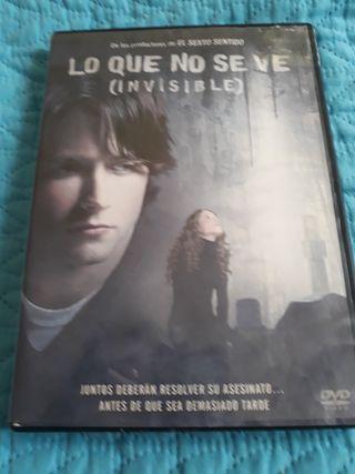 DVDPELI.LOQUENOSEVE(INVISIBLE)ORIGINALOFERTA5€.