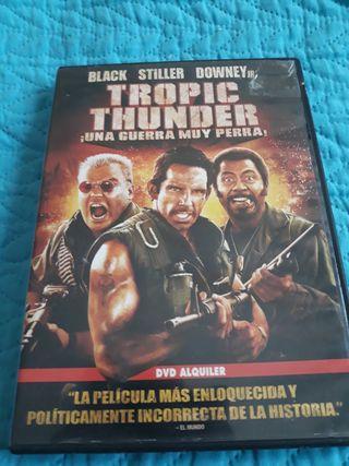 DVDTROPICTHUNDER¡UNAGUERRAMUYPERRA!ORIGINAOFERTA5€