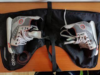 Patines de Hockey sobre hielo ( oxelo ).