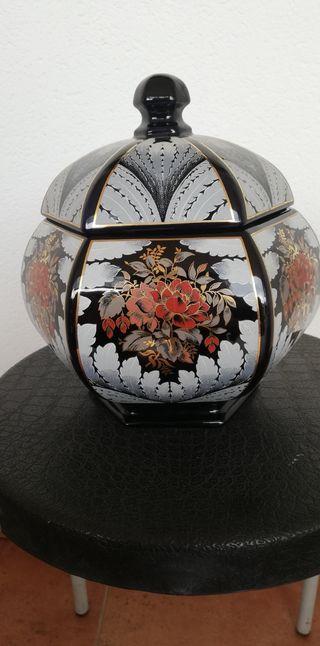 bombonera tibor porcelana