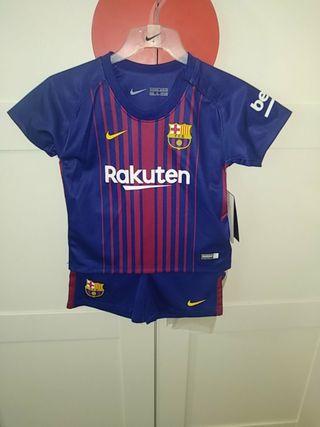 Equipacion Barça 12/18 meses
