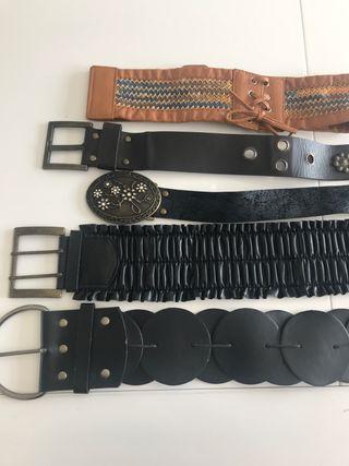 Cinturones chica (lote de 6)