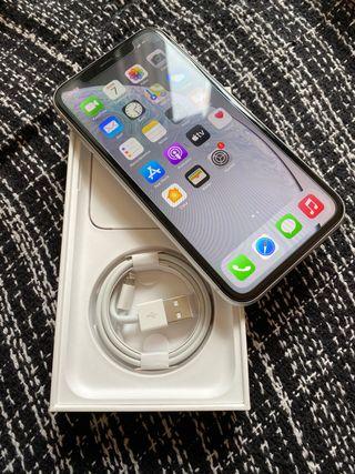 Iphone xr 128gb blanco!