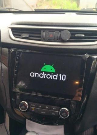 Radio navegador gps android Nissan Qashqai J11
