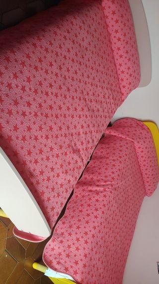 2 colchas cama 90cm.