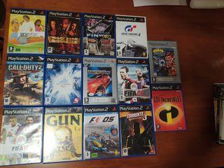 Lote 14 videojuegos PlayStation 2