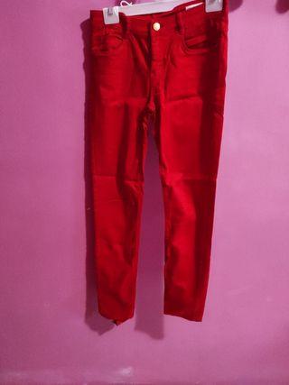 pantalón Mujer Rojo