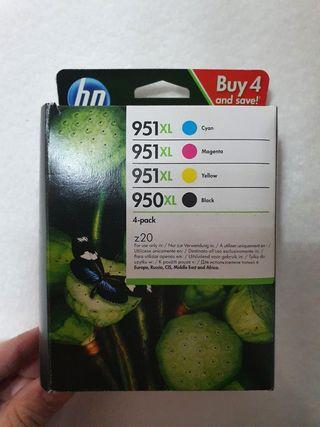 Pack 4 Tinta HP 951XL