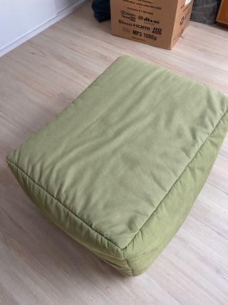 Puff convertible en cama 80x180
