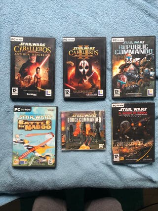 Vídeos juegos PC Stars Wars