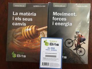 Libros nuevos física y química 2do ESO Science Bit