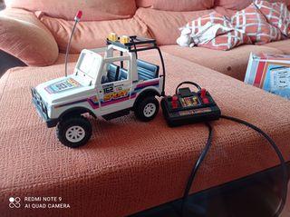 coche teledirigido vintage años 80