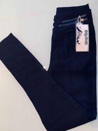 Jeggins, leggings, negro, S