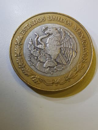 Moneda 20 pesos 1993 Mexico