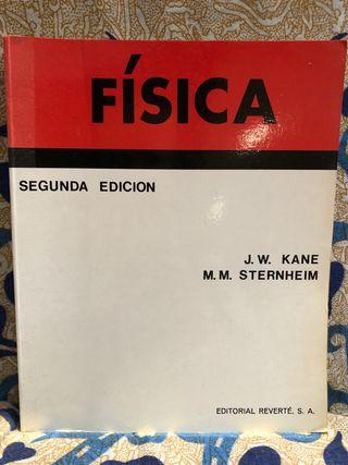 Libro FÍSICA (J.W. KANE, M.M. STERNHEIM)