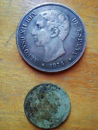 5 pesetas de Alfonso XII