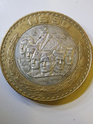 Moneda 50 pesos Mexico 1995