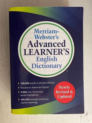 Diccionario Merriam Webster Advanvced