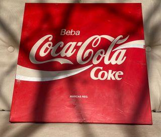 Cartel/placa Coca-Cola