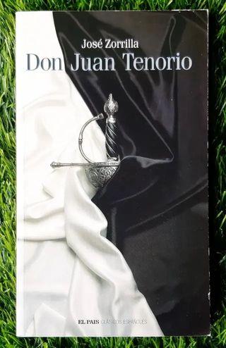 Libro Don juan tenorio de jose zorrilla