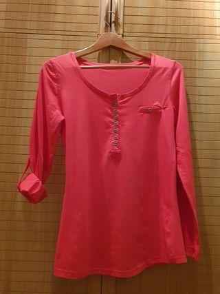Camiseta algodón/elastan