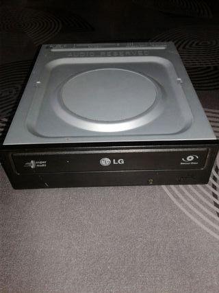 Reproductor grabador CD de ordenador