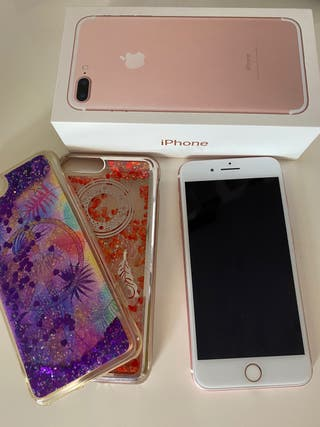 iPhone 7 plus rosa 128 gb