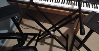 Soportes para teclado/Sintetizador y para monitore
