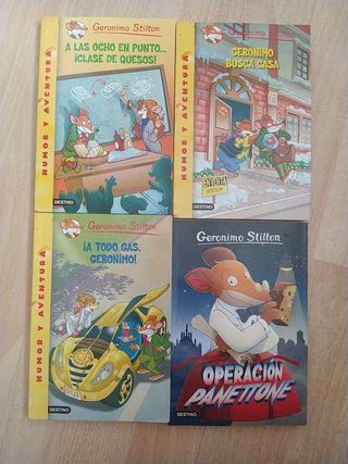 Colección de Libros Gerónimo Stilton