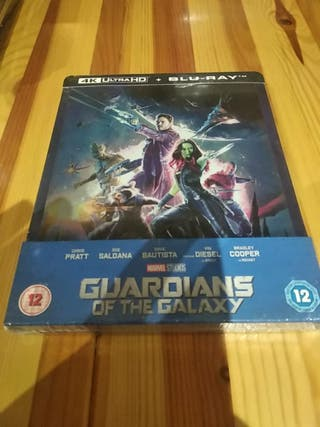 Guardianes de la Galaxia Steelbook Marvel