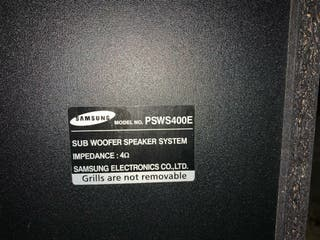 HomeCinema Subwoofer Samsung