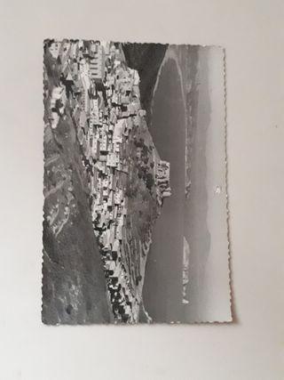 postal fotográfica b/n años 40's - 50's