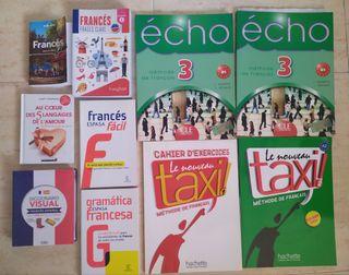 Pack libros curso Francés nuevos