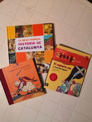 Nous. 3 llibres Història Catalunya