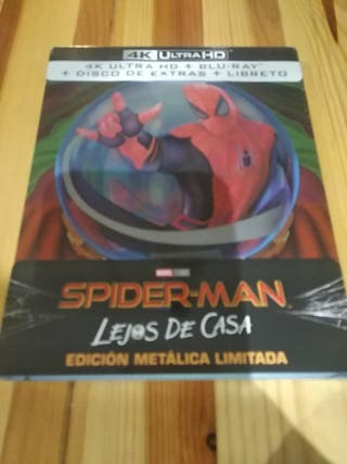 Spiderman lejos de casa steelbook