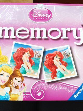 juego Memory Princesas