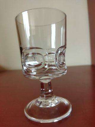 12 Copas de vino Cristal d'Arques