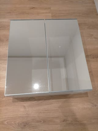 Armario baño blanco con espejo Ikea