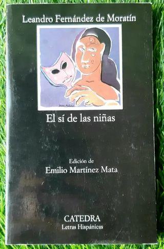 Libro el si de las niñas de Leandro Fernandez