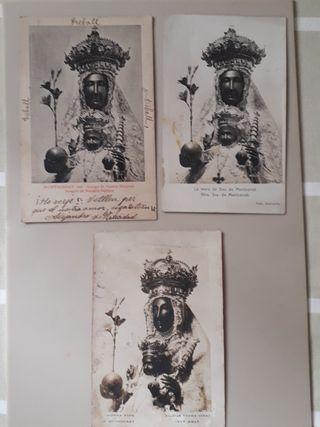 postales religiosas antiguas inicios del siglo XX