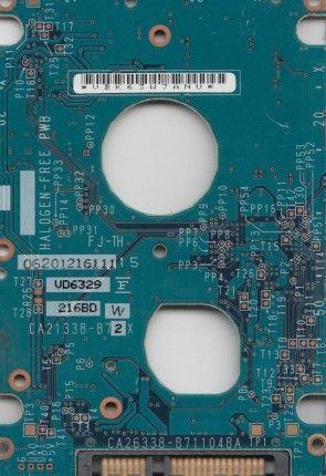 Placa pcb FUJITSU MHV2080BH CA21338-B72X ideal par