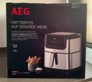 Freidora de aire sin aceite AEG AF6-1-6ST - NUEVA