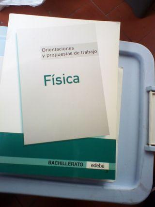 FISICA DE BACHILLERATO