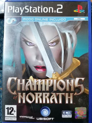 champions norrath ps2