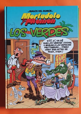 Tebeo Mortadelo y Filemon Los verdes