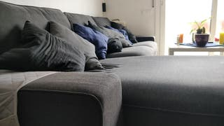 Sofá 4 plazas con chaiselongue