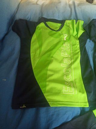 camisetas tallas 10 y 12 , camiseta basquet t. 12