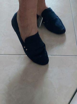 zapatos azul marino sin estrenar