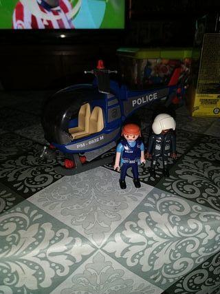 Playmobil Helicóptero + 2 figuras