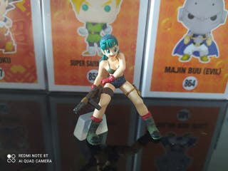 bulma dragon ball gashapon hg